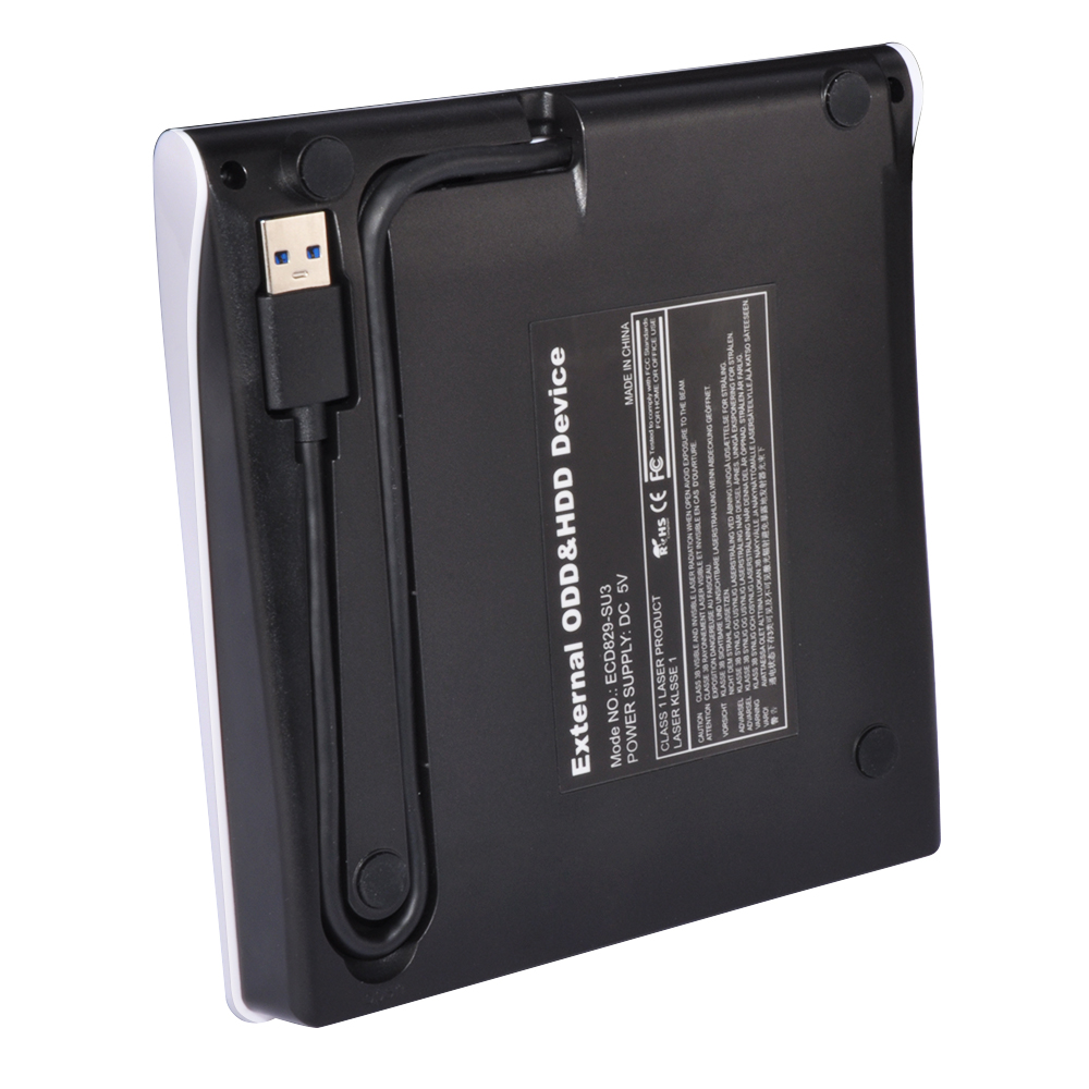 ECD829-SU3 USB 3.0 SATA External DVD Enclosure