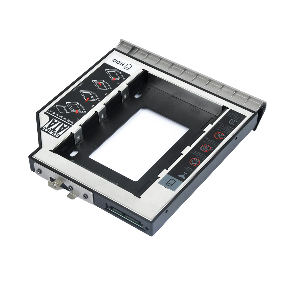 HD8460P-SS 12.7mm Second Hdd Caddy For HP
