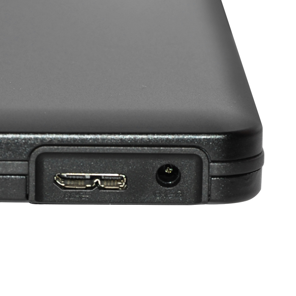 ODPS1203-SU3 Pop-up 12.7mm USB3.0 Aluminium External DVD Case (Black)