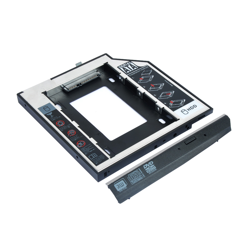 HD2560P-SS 12.7mm Second Hdd Caddy for HP
