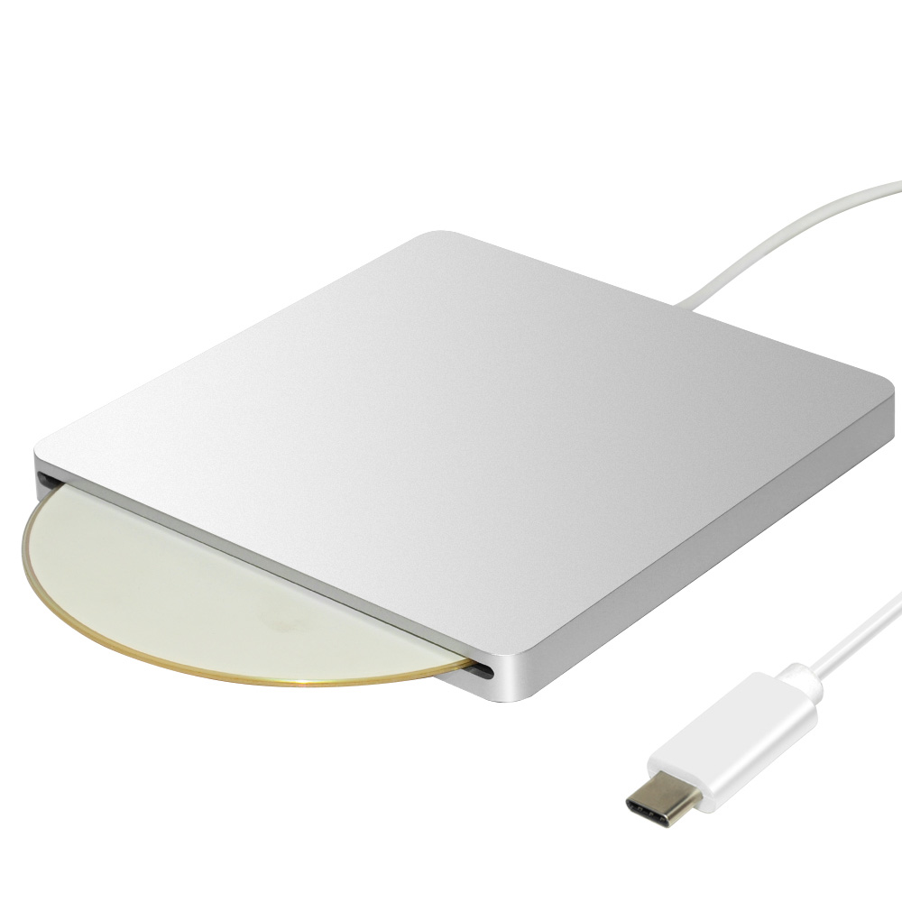 ECD018-C USB-C Super slim portable Slot in External DVDRW