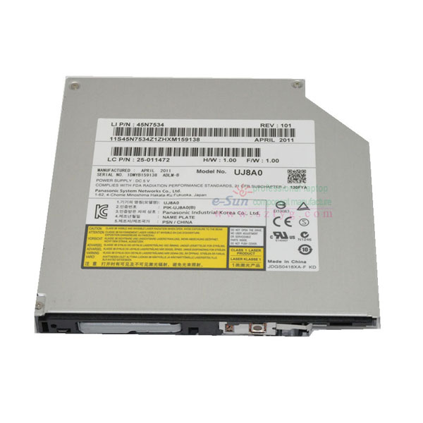 Panasonic UJ8A0 internal optical drive