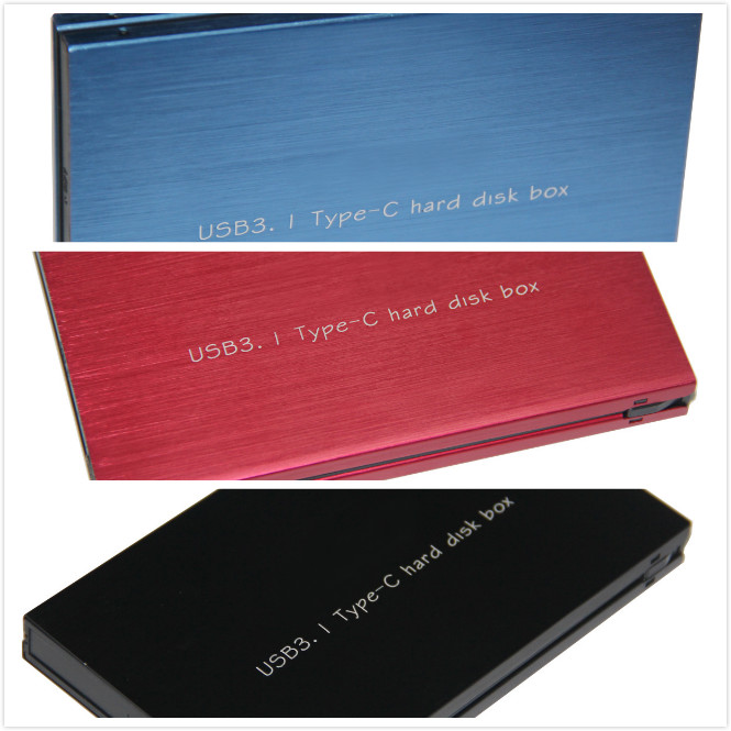 USB 3.1 Type C 2.5 inch SATA SSD HDD Case