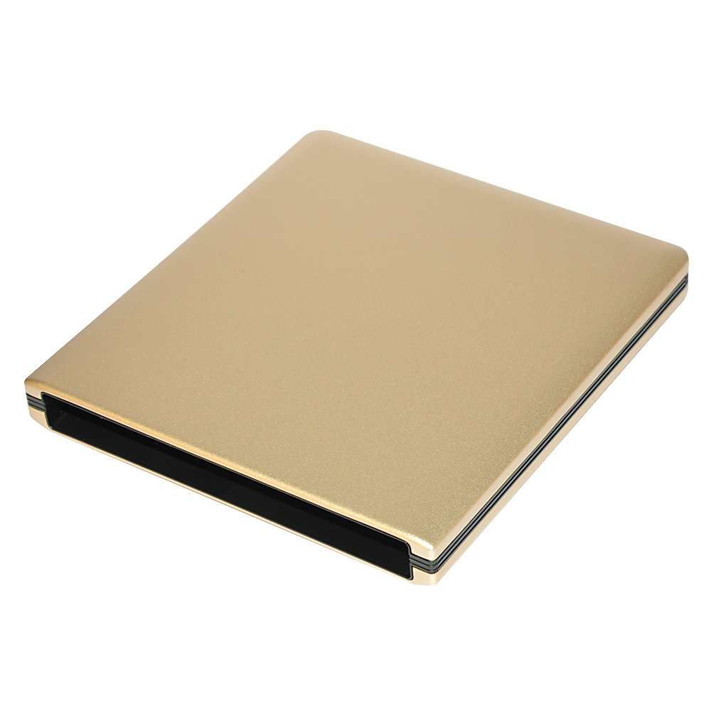 ODP1202-SU3 USB3.0 12.7mm Aluminum alloy External DVD Enclosure (Gold)
