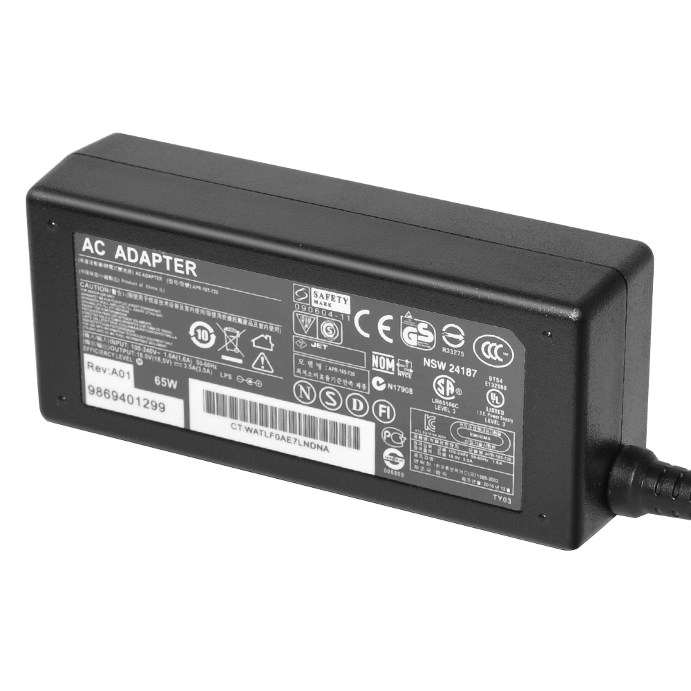 Laptop AC Adapter for HP 18.5V 3.5A 65W 7.4X5.0mm
