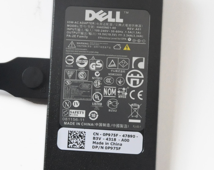 AC Adapter for Ultra-thin notebook DELL