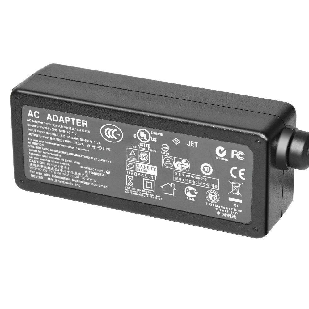 Laptop AC Adapter for Asus 19V 2.37A 45W 4.0x1.35mm