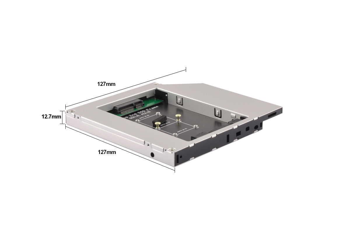 HD1206-M SATA 12.7mm SSD Enclosure