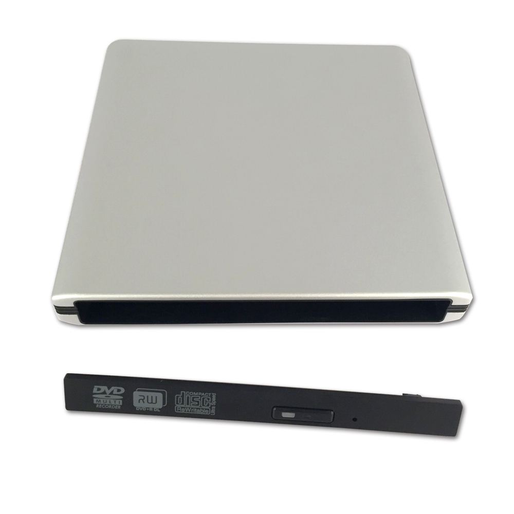 ODP1202-SU3 USB3.0 12.7mm Aluminum alloy External DVD Enclosure (Siver)