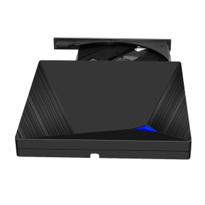 External Optical Drive with USB3.0 & Type-C for DVD/CD Writer Reader Burner