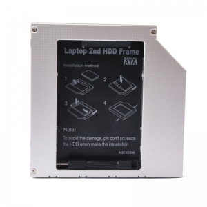 HD1204-SS 12.7mm Universal 2nd HDD Caddy