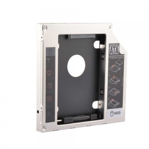 HD1205-S3K (SATA-SATA3) 12.7 mm Universal 2nd HDD Caddy