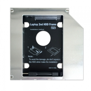 HD1208-SSKL 12.7mm Universeller 2. HDD Caddy