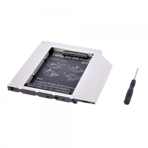HD9001-SS 9mm 2nd hdd caddy Built-in Screwdriver