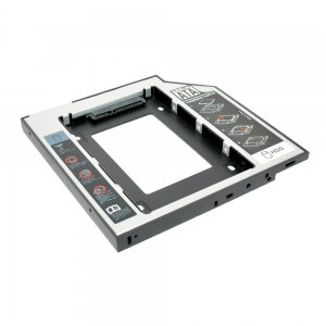 HDS9503-SS  9.5mm SATA-SATA3 Universal  2nd HDD Caddy