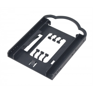 "high quality corner 2.5"" to 3.5"" plastic SSD hdd bracket"