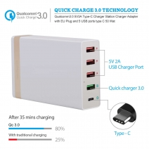 China 5 Ports Intelligent Fast Charger Station factory