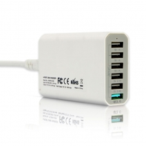 China 6 port QC3.0 USB3.0 Fast Charger factory
