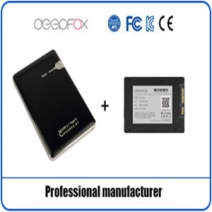 DEEPFOX AES-256 Encryption Type-C SSD, Apply to all 2.5 inch SATA SSD