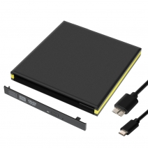 China ECD008-C Tpye-C Interface 12.7 mm External Optical Drive Enclosure factory