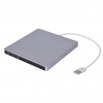China ECDS018-SU Portable 9.5mm USB to SATA External DVD Burner CASE factory