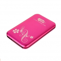 China ES2512 (pink) 2.5 inch SATA HDD Enclosure factory