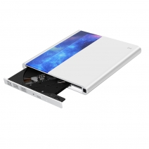 China External Optical Drive DVD CD Writer Reader Burner with USB 3.0 and Type C interface, support Connecting TV-Fabrik
