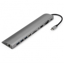 USB 3.1 C Laptop Bed USB C Hub 11 in 1 Full Function with Ethernet