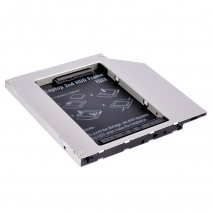 HD9001-SS 9mm SATA 2nd hdd caddy Built-in Screwdriver