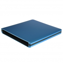 ODP1202-SU3 USB3.0 12.7mm Aluminum alloy External DVD Enclosure (Blue)