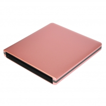 China ODP1202-SU3 USB3.0 12.7mm Aluminum alloy External DVD Enclosure (pink) factory