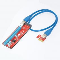 Cavo di prolunga PCI-E da 1x a 16x PCIe USB 3.0 BTC Miner Dedicated adapter