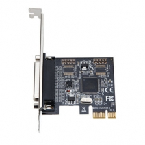 PCI-E 1X to Parallel Expansion card DB25 LPT Printer Card Adapter add on card with ASIX9900 chip