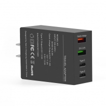 Qc3.0 Type-C x2 4-port USB 50W High Power Charger